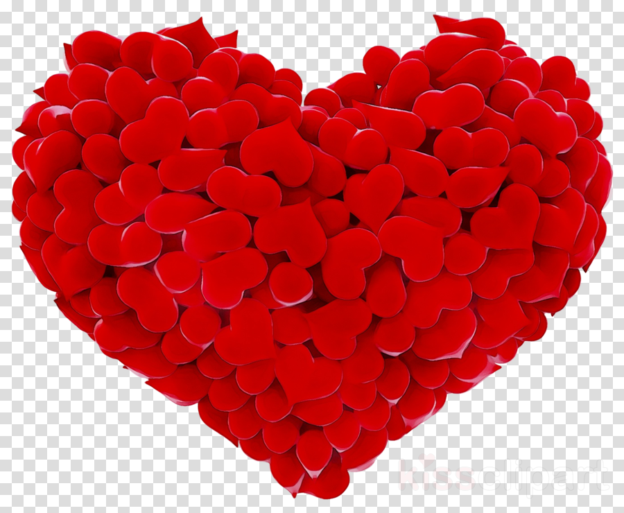 Love Heart Red Transparent Png Image Clipart Free Download