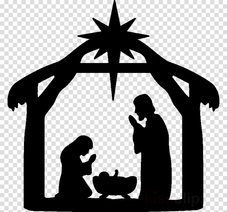 Christmas Clip Art Clipart Silhouette Graphics Transparent Clip Art Contour cut vinyl decal sticker. silhouette graphics transparent clip art