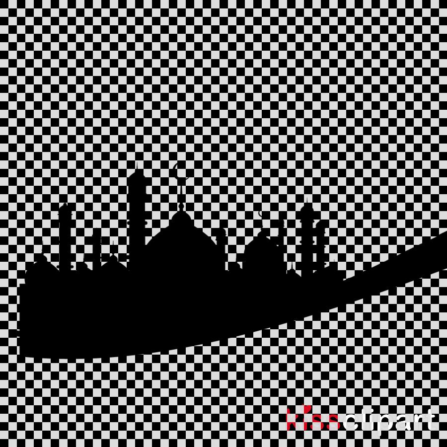 Eid Mubarak Silhouette