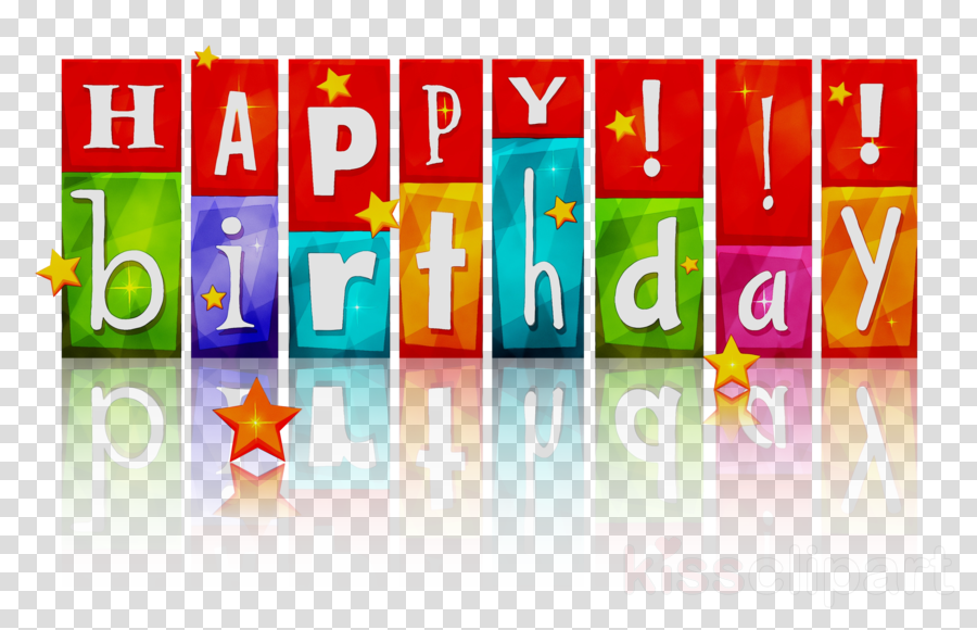 Happy Birthday Banner Clipart Birthday Text Product