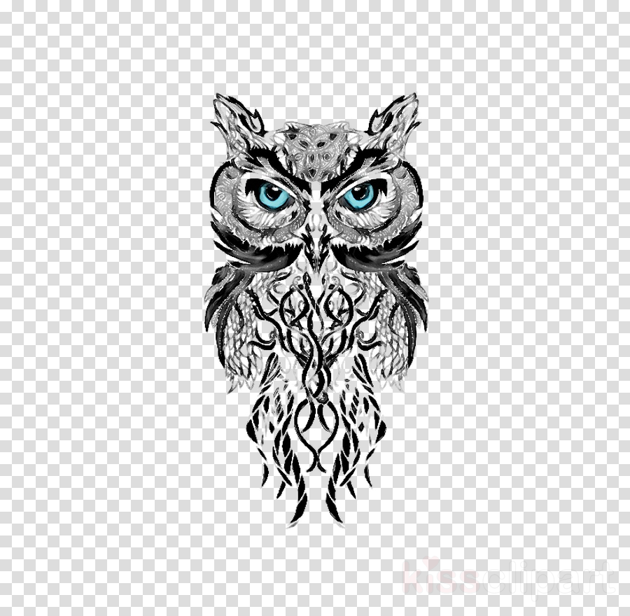 Owl Tattoo Design Transparent Png Image Clipart Free Download