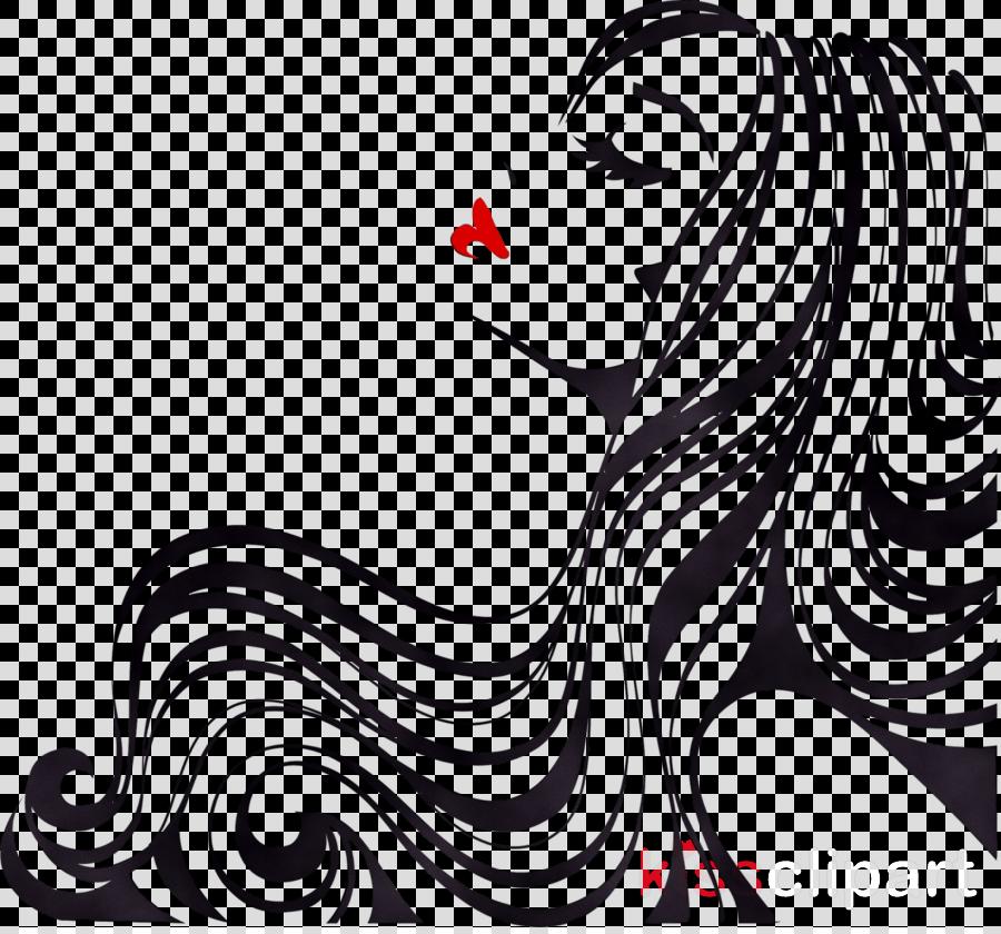 Hair Cartoon Clipart Sticker Wall Wallpaper Transparent Clip Art