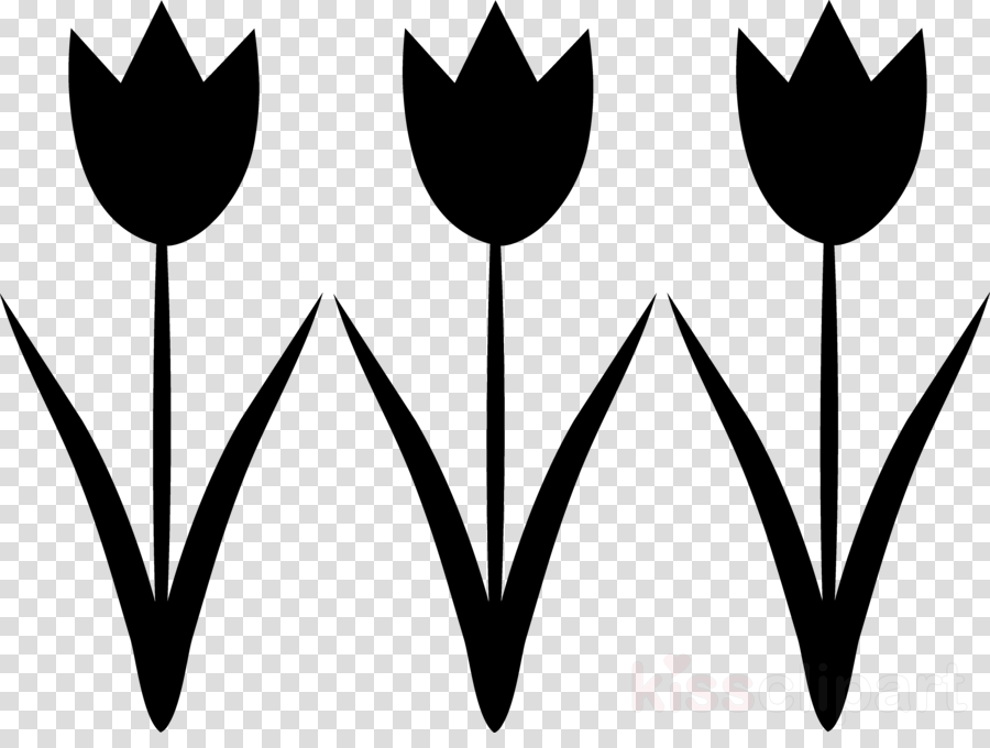 clip art tulips black and white clipart Tulip Clip art