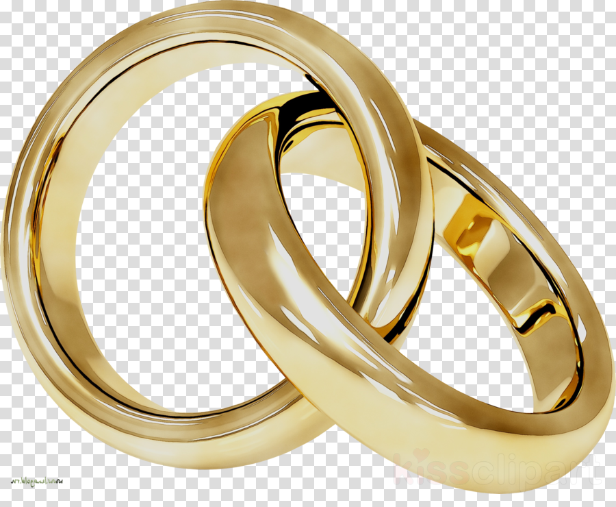 Wedding Anniversary Clipart Ring Wedding Gold
