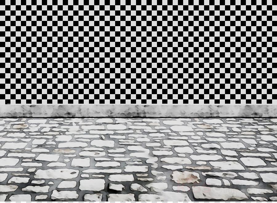 Road Cartoon Clipart Wall Floor Brick Transparent Clip Art