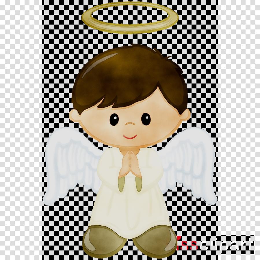 Angel boy. Christmas clip art clipart