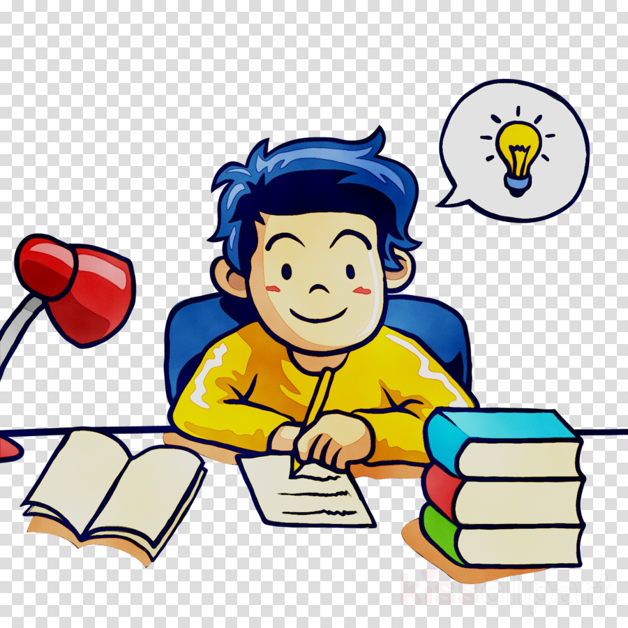 Study Cartoon clipart - Student, Education, School, transparent ...