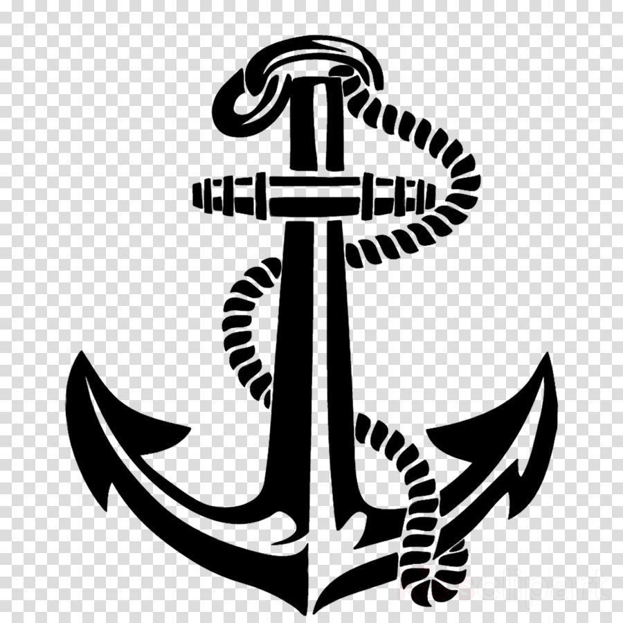 Anchor with no background clipart anchor decal sticker