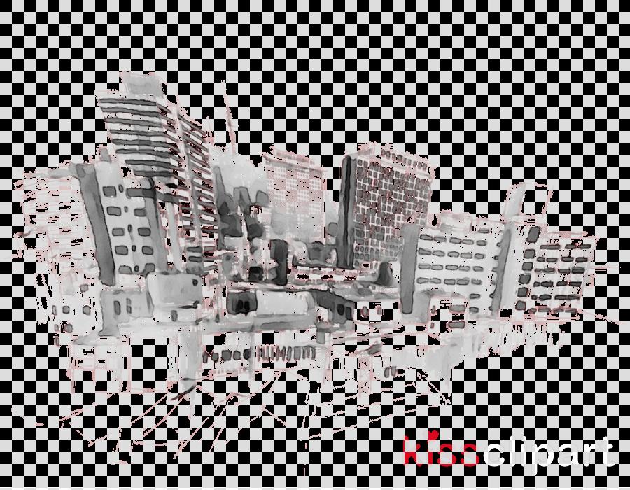 Real Estate Background Clipart City Sketch Architecture Transparent Clip Art