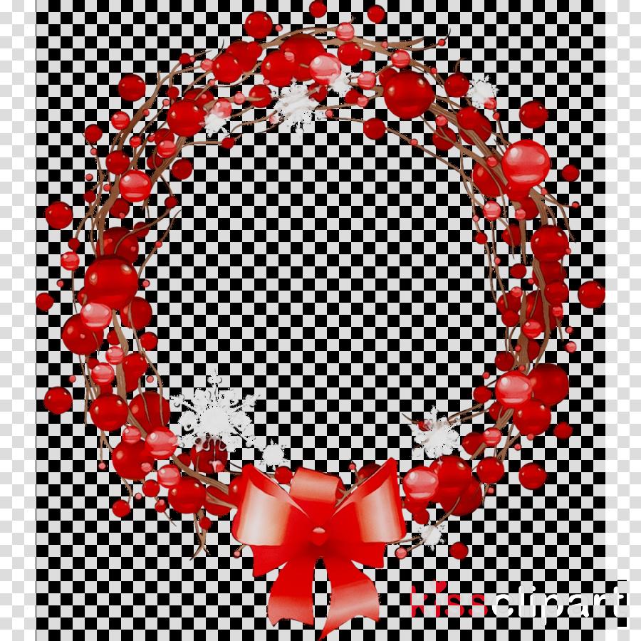 Christmas Wreath Illustration