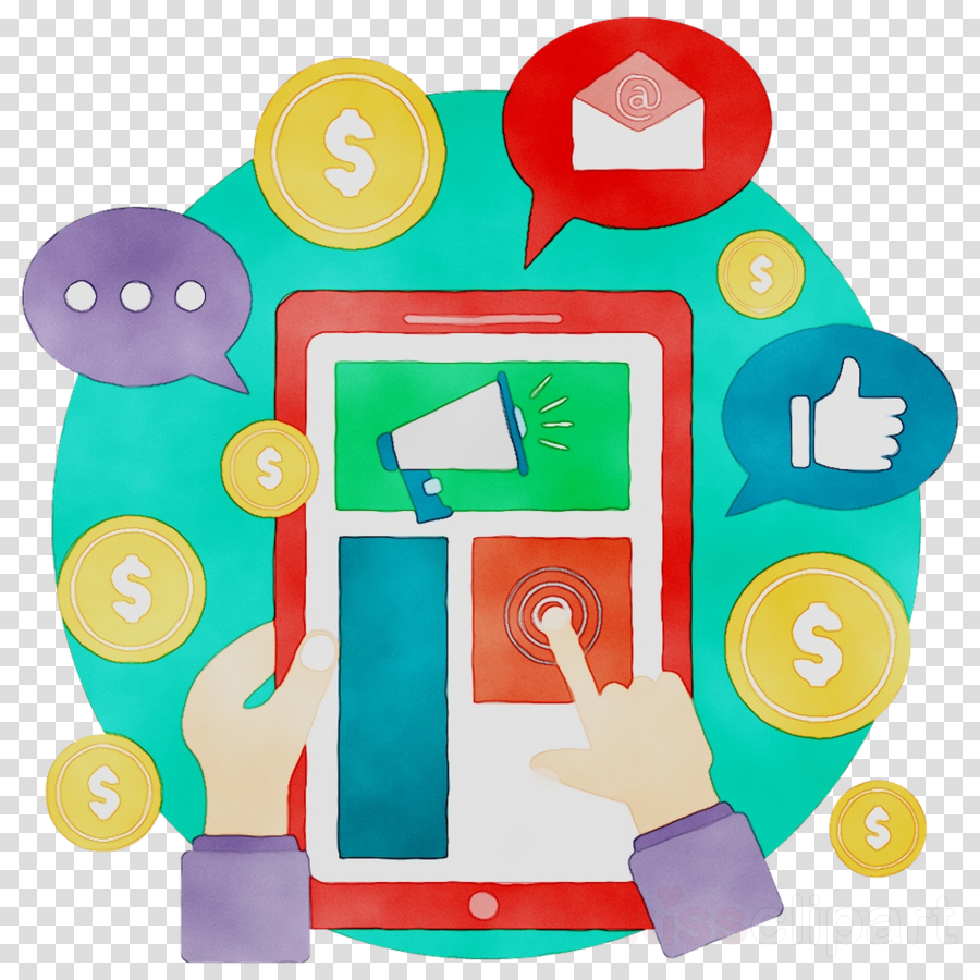 Digital Marketing Background clipart - Marketing ...