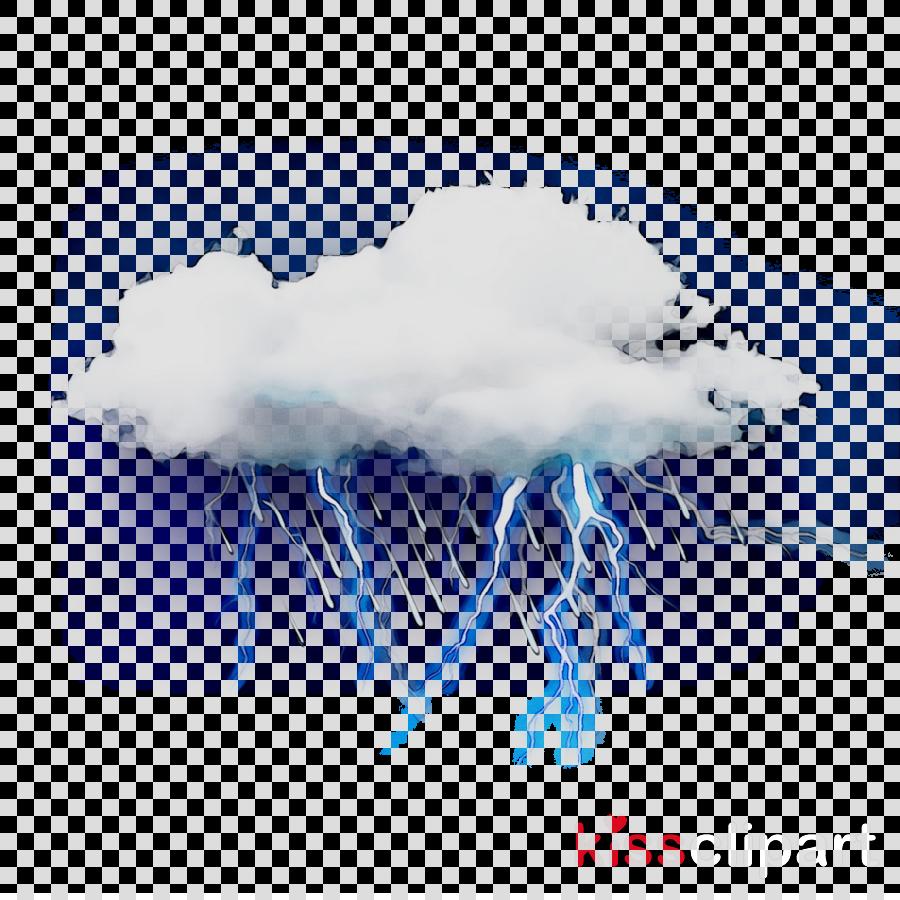 Cloud, Lightning, Sky, transparent png image & clipart free download