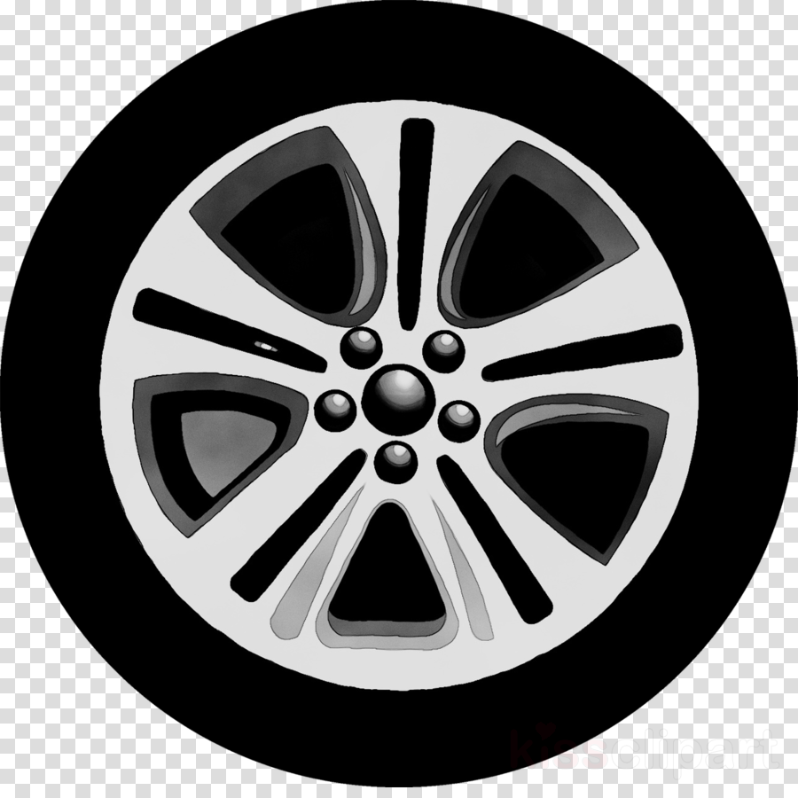 EPS Vector - Bike wheel with spokes and tire isolated on white background.  Stock Clipart Illustration gg61803865 - GoGraph
