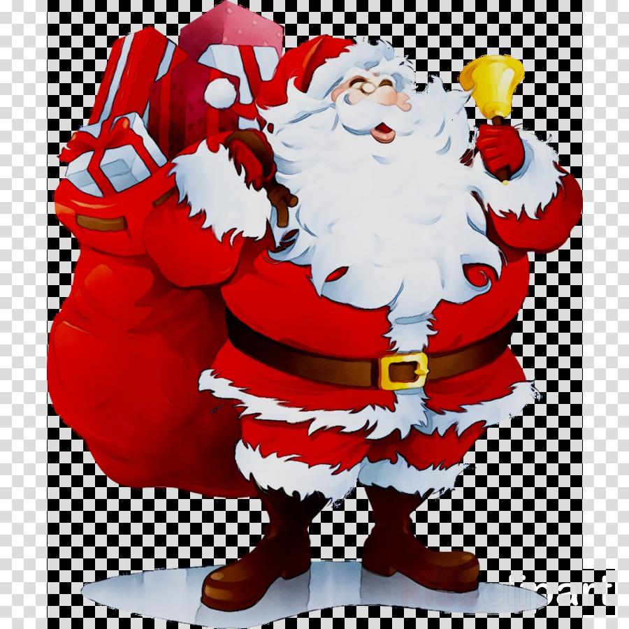 Christmas Minecraft Santa.Christmas Gift Card Clipart Christmas Illustration