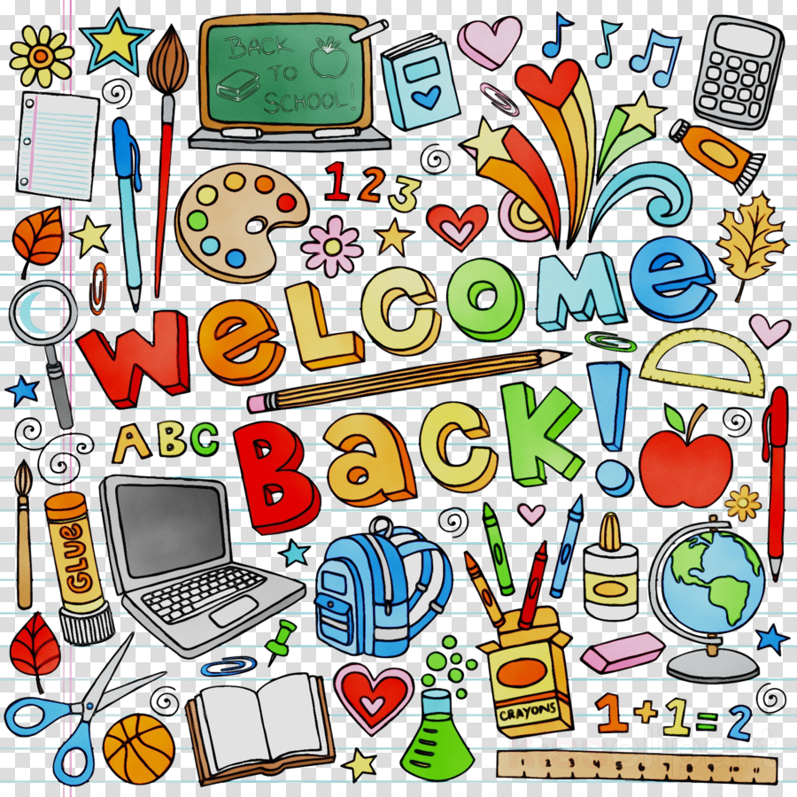 Back To School Cartoon Background