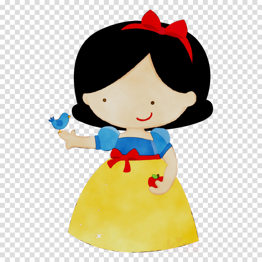 Snow White Baby Birthday Invitations Clipart Party