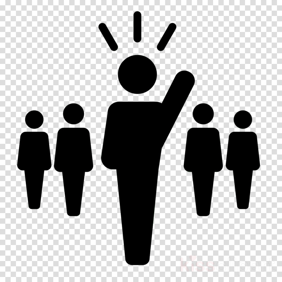 Group Of People Background Clipart Leadership Team People Transparent Clip Art