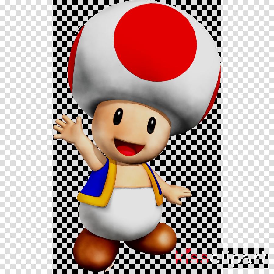 Mario toad. Download kart clipart super
