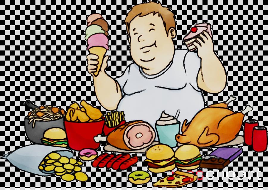 Download Junk Food Cartoon