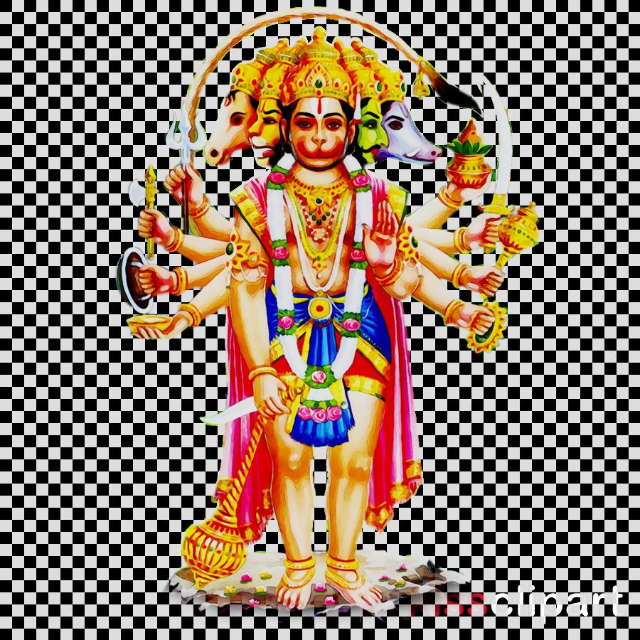 Figurine Clipart Bhagwan Shri Hanumanji Night Lakshmana Clipart