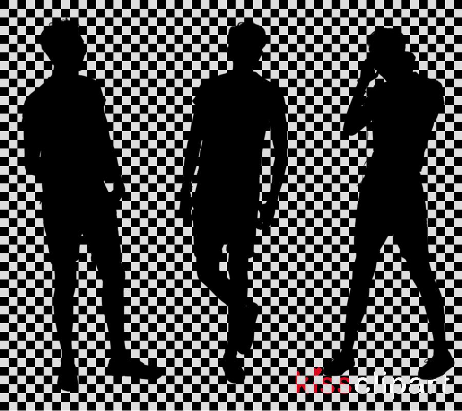 standing clipart Human behavior Silhouette