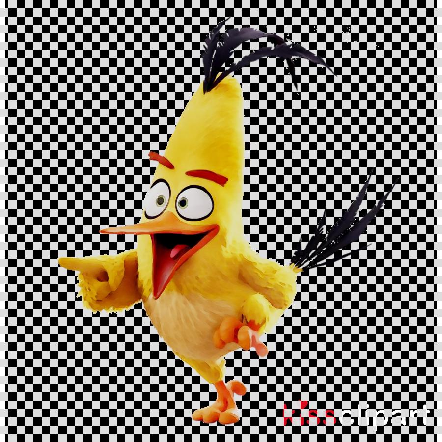 Angry Birds 2 Clipart Chicken Yellow Bird Transparent