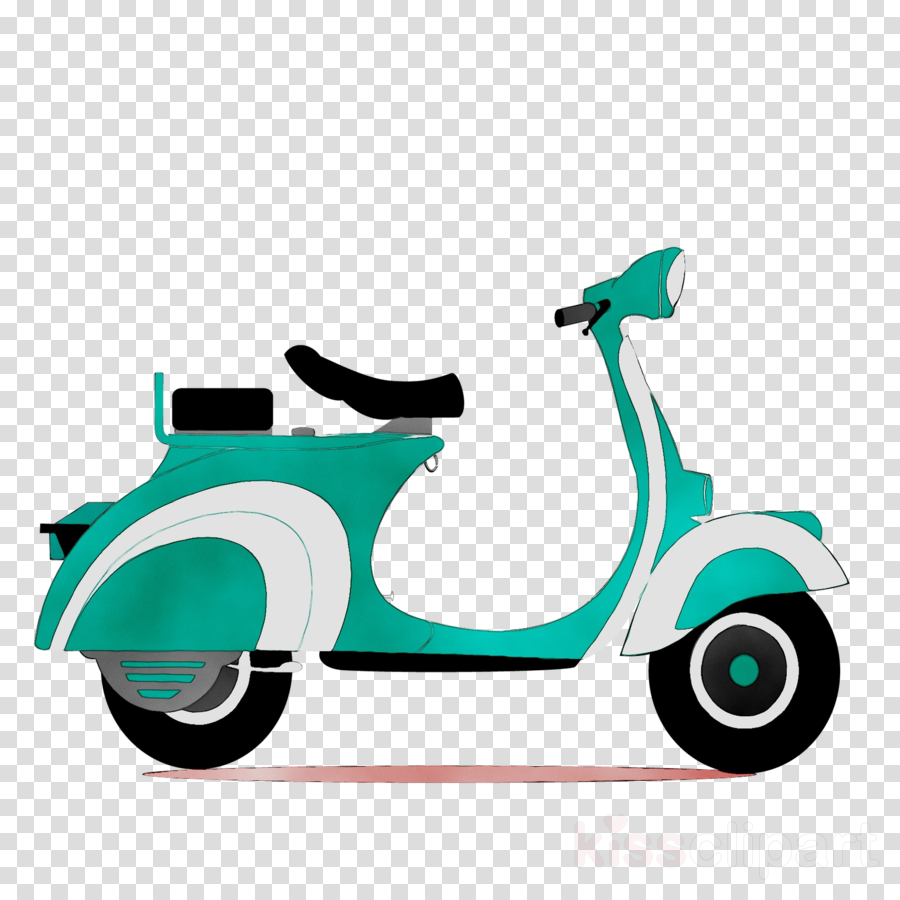 Cartoon Car Clipart Motorcycle Scooter Product