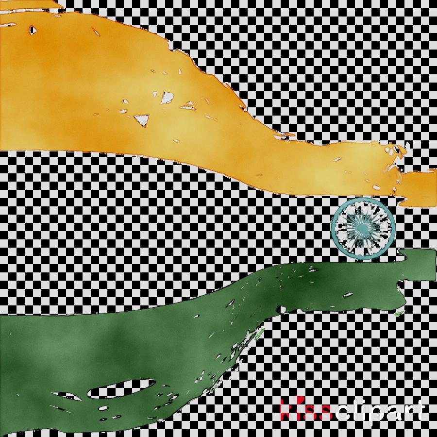India Flag Green
