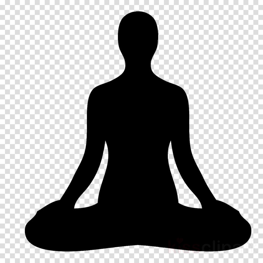 Yoga Background Clipart Meditation Yoga Silhouette Transparent Clip Art