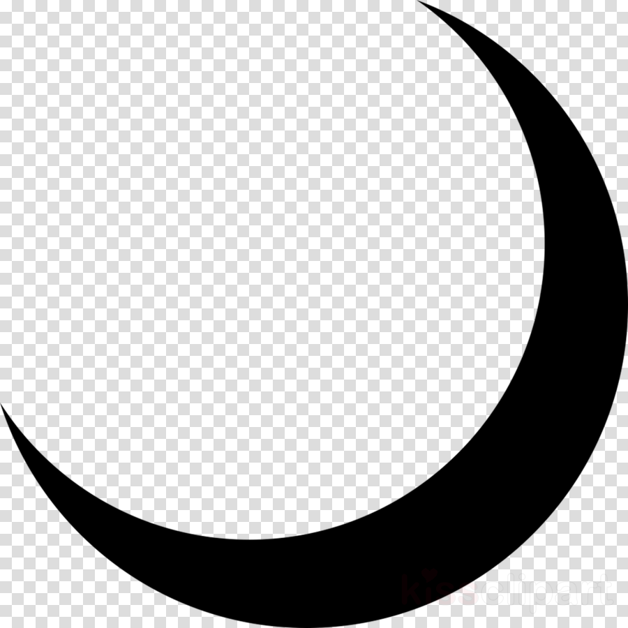 Crescent Moon Drawing