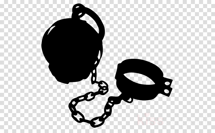 ball and chain clipart Ball and chain Prison