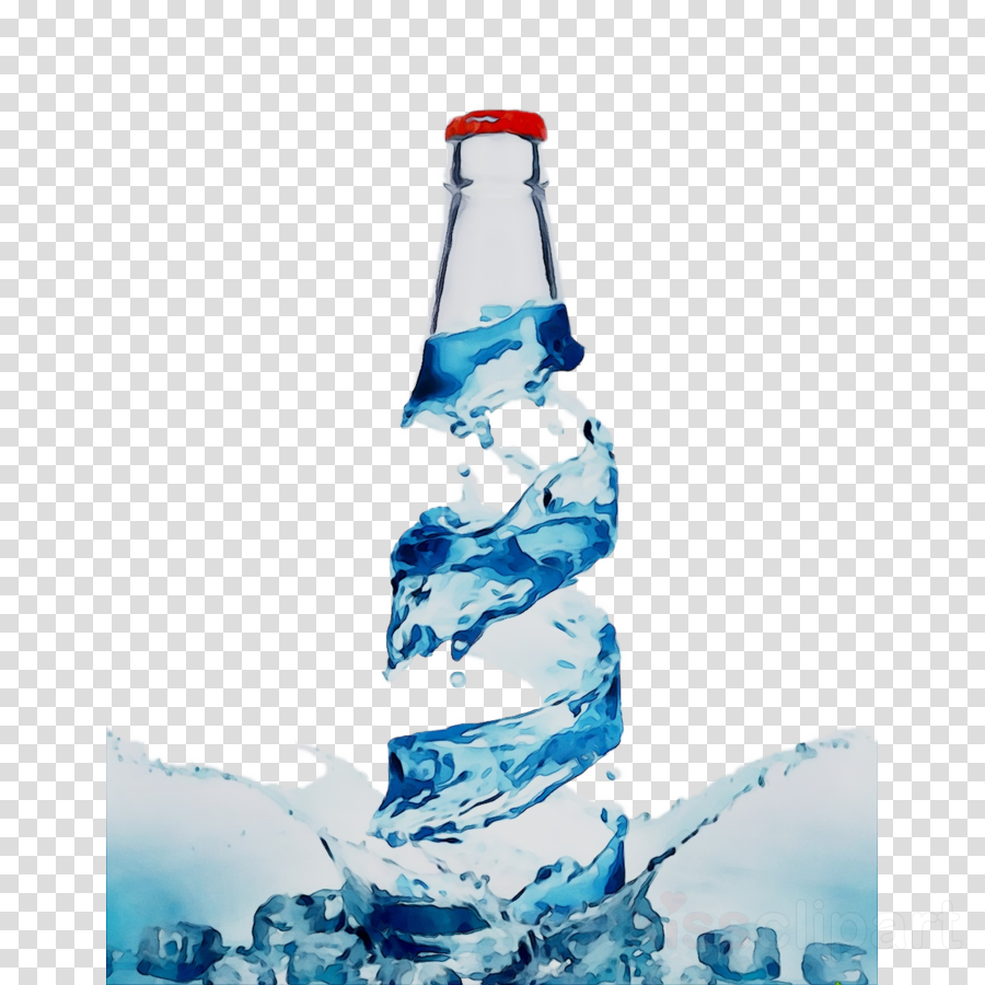 mineral water clipart Plastic bottle Mineral water Glass bottle