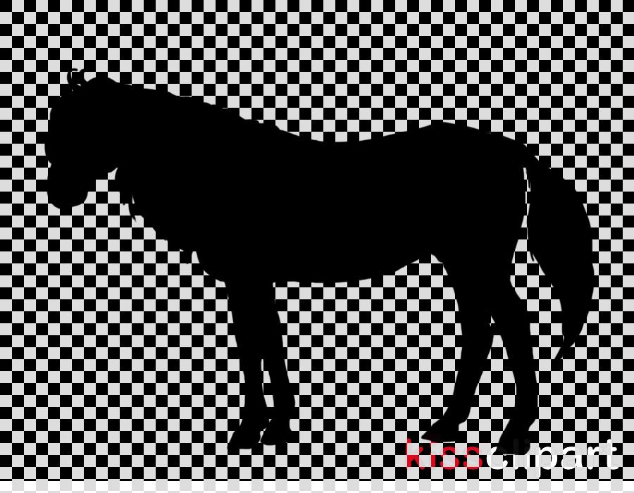 mini horse silhouette no background clipart American Miniature Horse Arabian horse