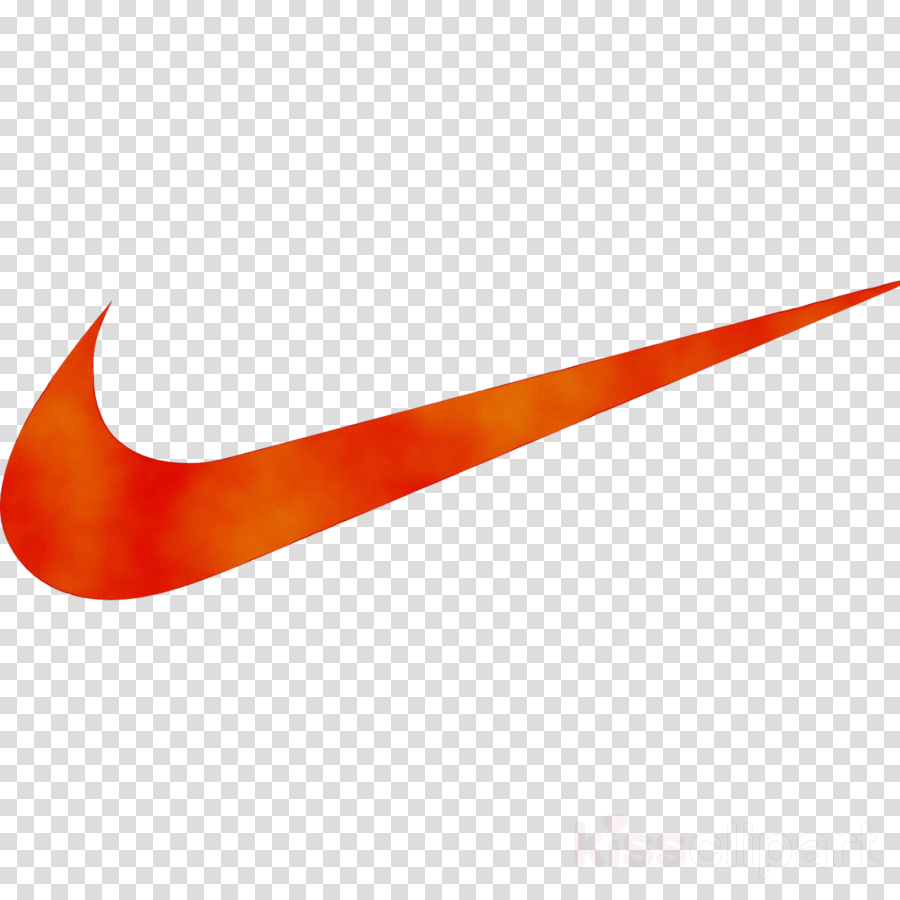Nike Swoosh Logo clipart - Shopping, Orange, Line ...