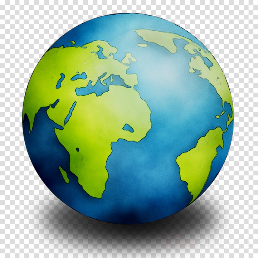 Planet Earth Clipart Globe Painting Earth Transparent