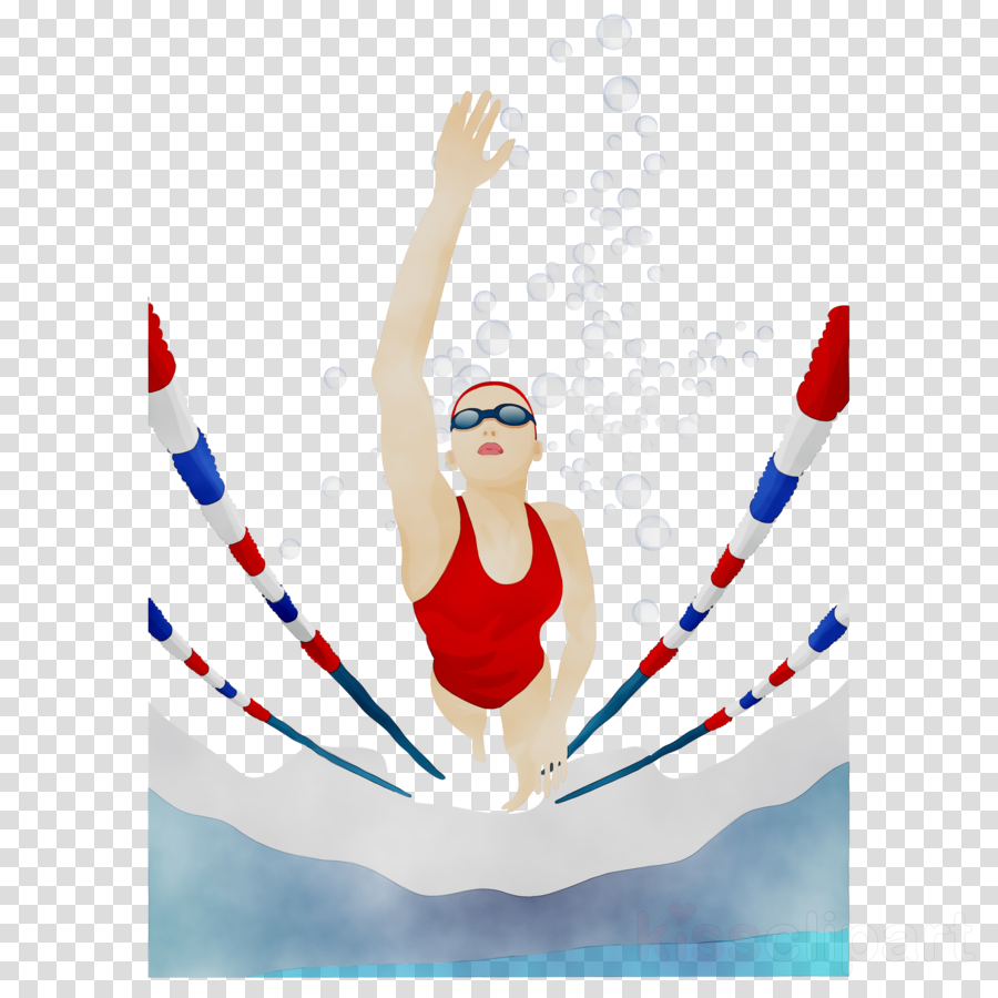 Swimming Cartoon Clipart Swimming Sports Gymnastics Transparent Clip Art