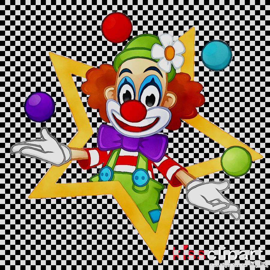 Joker Cartoon Clipart Clown Drawing Circus Transparent Clip Art