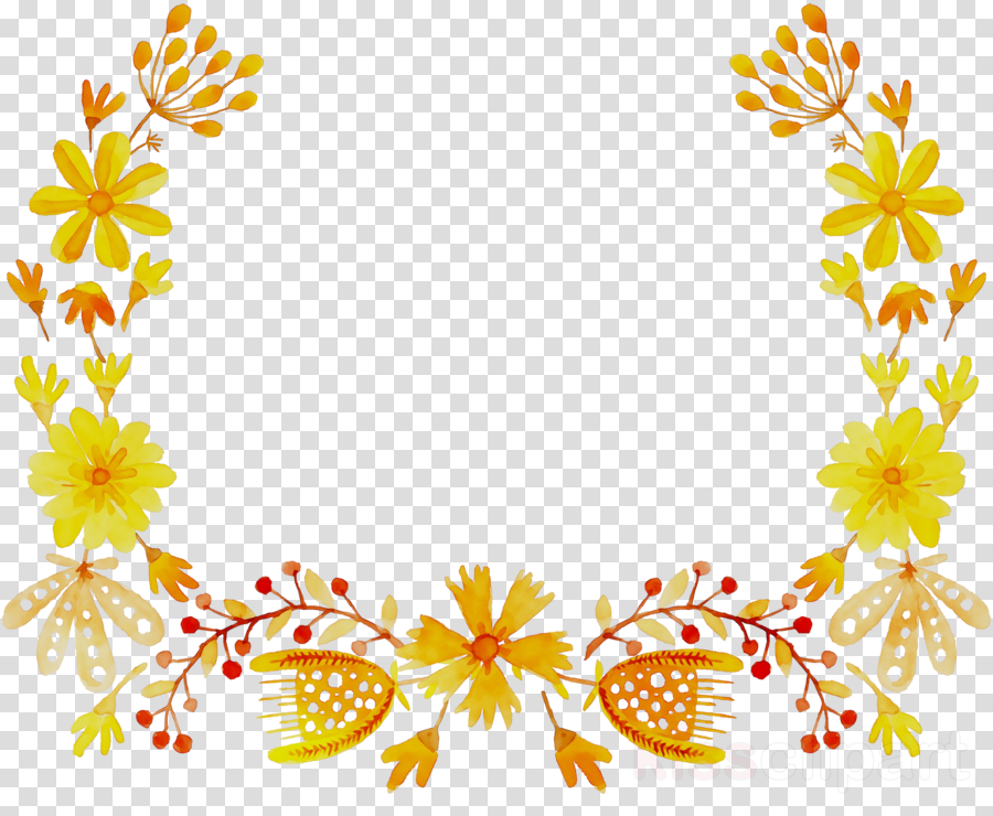 Flower Yellow Design Transparent Png Image Clipart Free Download