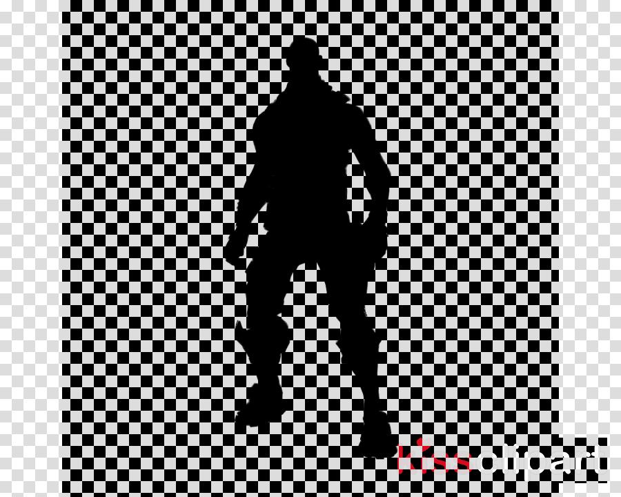 tracker fortnite skin clipart fortnite battle royale video games - fortnite silhouette clipart