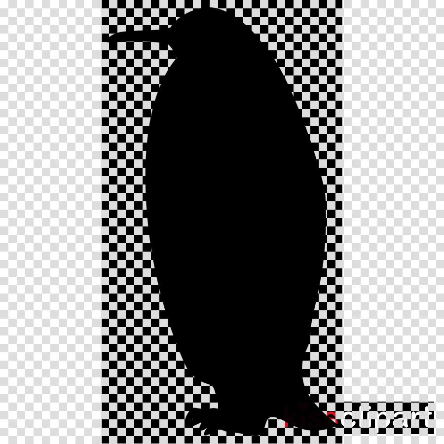Black Line Background Clipart Penguin Black Silhouette Transparent Clip Art