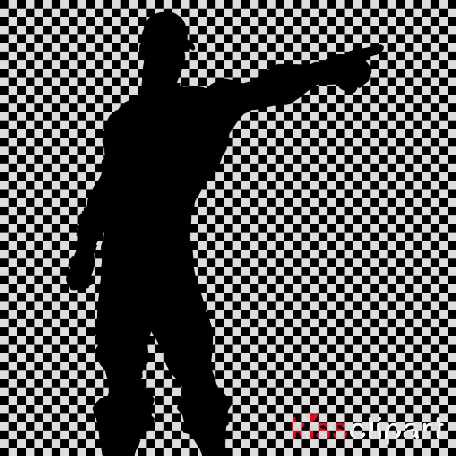 striped soldier fortnite clipart fortnite battle royale emote - fortnite silhouette clipart
