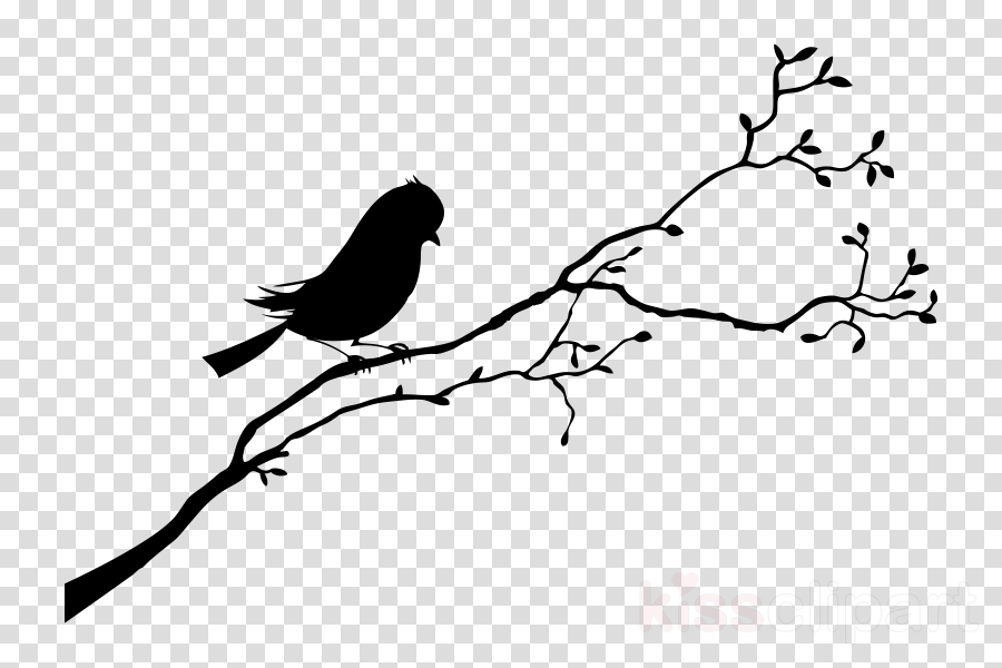 Bird Line Drawing Clipart Bird Illustration Silhouette