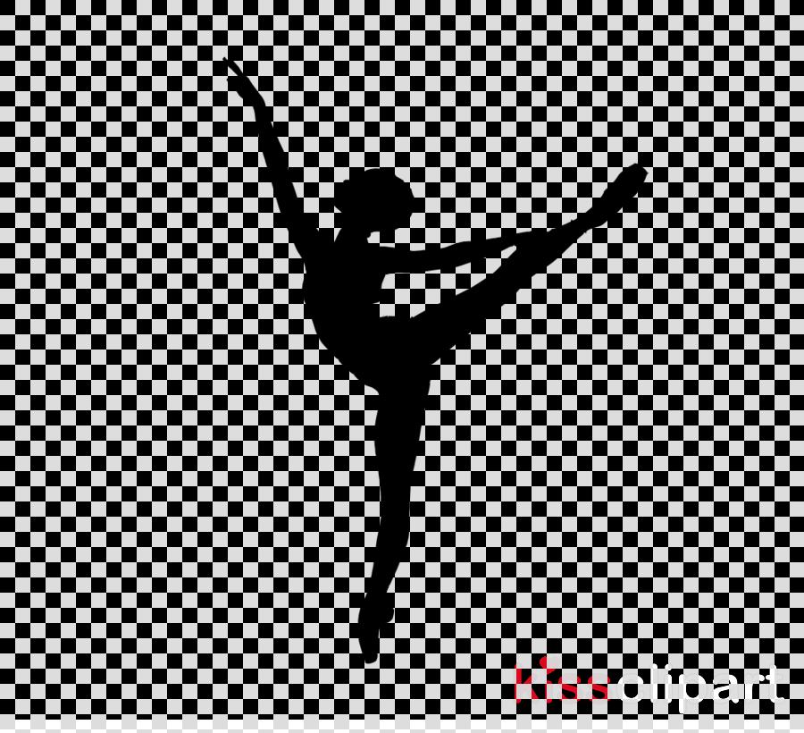 Dance Silhouette Balance Transparent Image Clipart Free