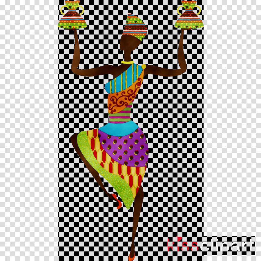 картинки африканки в векторе