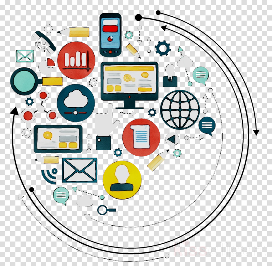 Digital Marketing Icon clipart - Marketing, Advertising ...
