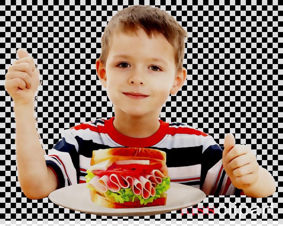Kids School Background Clipart Eating Health Child Transparent Clip Art