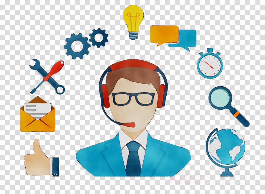 account manager cartoon clipart Customer Service Technical Support Account Manager