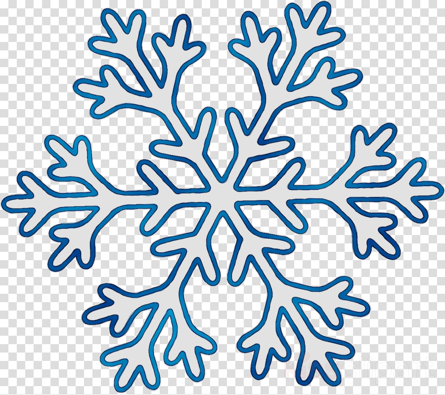 Snowflake snow. Winter clipart transparent clip