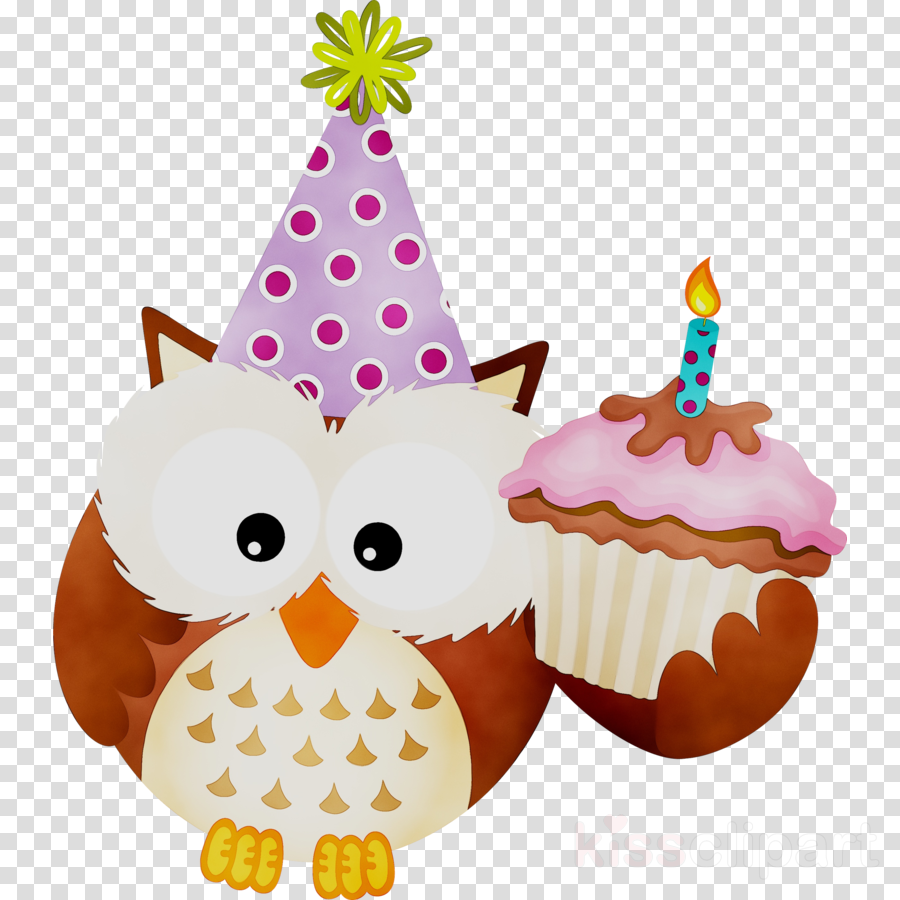 Birthday Party Background Clipart Owl Cartoon Birthday