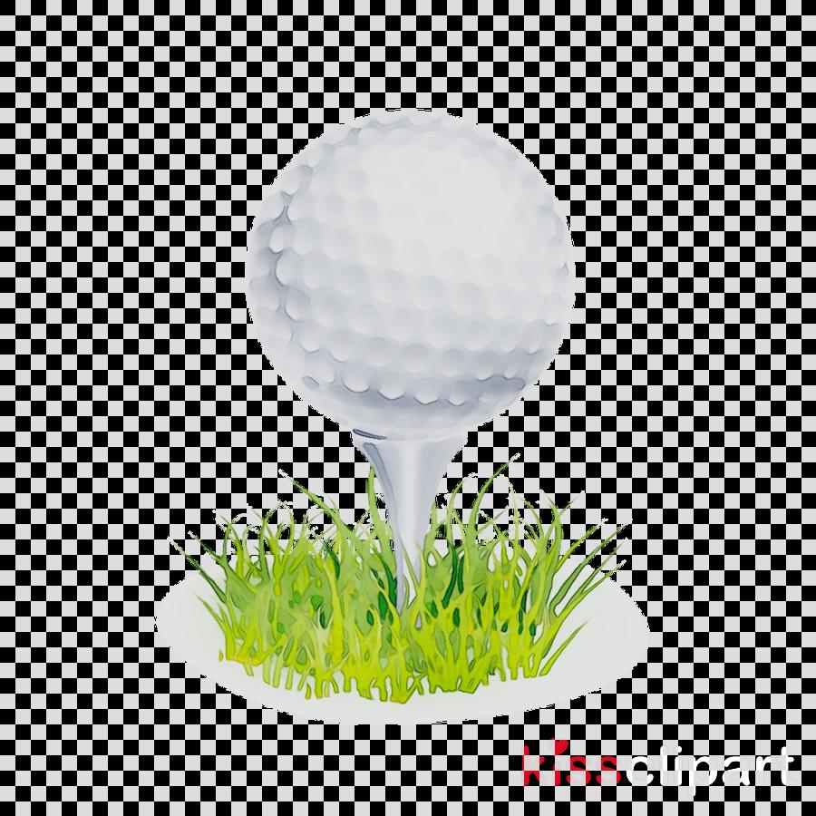Golf Background Clipart Grass Ball Plant Transparent Clip Art